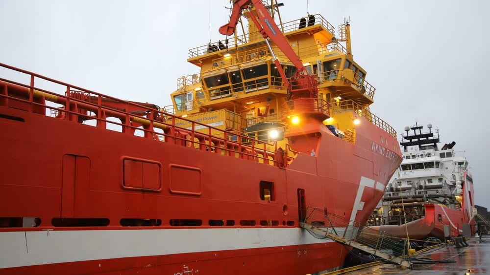 Viking Energy ble bygget i 2003, men er langt fra noen pensjonist. Viking Energy blir det første som går på ammoniakkdrevet brenselcelle . I dag er det LNG-batterihybrid framdrift.