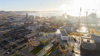 Fremtidsindustrien skapes på Herøya utenfor Porsgrunn