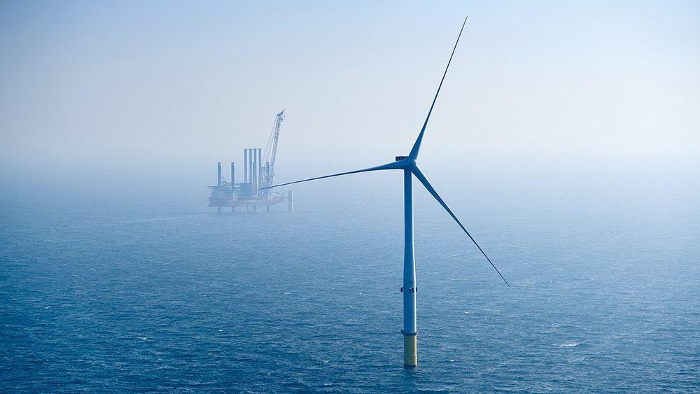 Havvind erstatter kullkraft i Storbritannia.