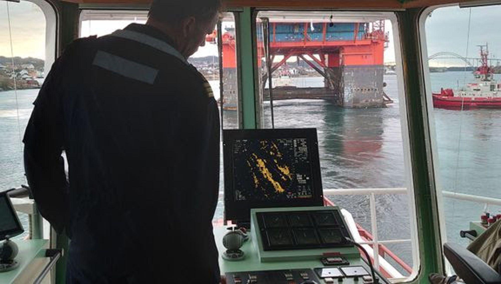 Kystverket vil øke sjøsikkerheten ved å utvikle et portabelt støtteverktøy som kan varsle losen om interferens på GSNN-signal.