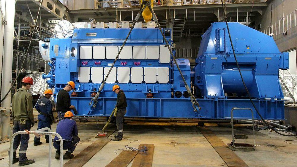 Seks motorer fra Bergen Engines installeres på Nexans Aurora. Hver motor/generatorsett er på 3600/3450 kW.