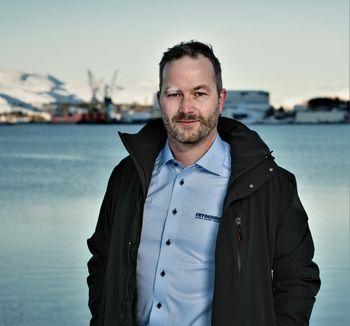 Are Davidsen, senior salgsingeniør for skipsmotorer i Frydenbø Industri AS. De representerer  ABC Engines fra Belgia i Norge.