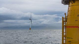 Rekord for Equinors flytende havvind-anlegg: Leverer langt bedre enn bunnfast