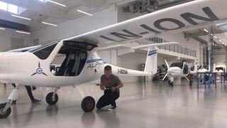 Etter ulykken: Elflyet flys uten passasjerer, i glidedistanse fra flyplassen og skal ikke brukes som skolefly