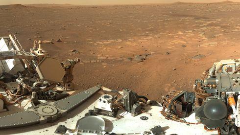 Dette er den nye «flyplassen» på Mars