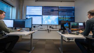 Ansatte i Uninett som er knyttet til Cybersikkerhetssenter for forskning og utdanning.