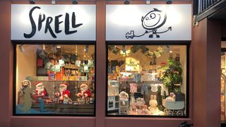 Fasaden på Sprell-butikken på Majorstuen i Oslo.