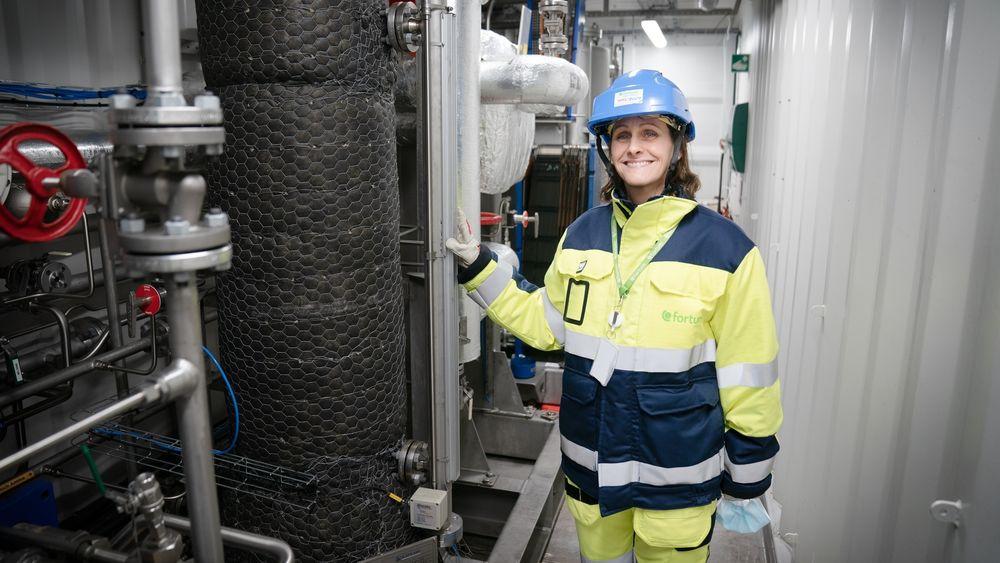 Jannicke Gerner Bjerkås er CCS-direktør ved Fortum Oslo Varme. Nå er CO2-fangstprosjektet ved avfallsanlegget på Klemetsrud med i den siste søknadsrunden om EU-midler.