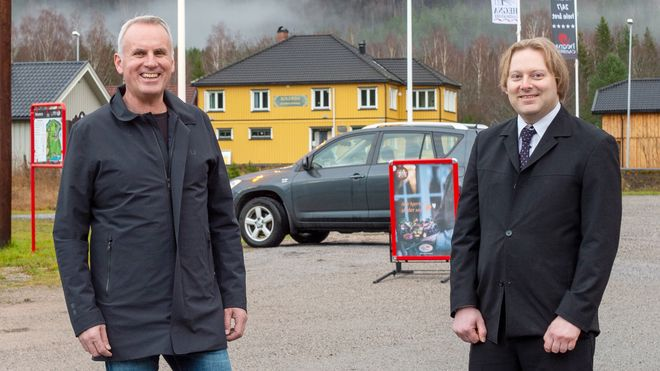 Pionerene bak konseptbutikken og tekniske løsninger for digitale dagligvarebutikker, Hans Olav Bakås til venstre og Terje Bakken, hevder at vi bare har sett begynnelsen på digitaliseringen i bransjen.