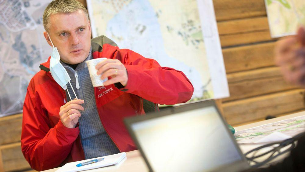 NVE-direktør Kjetil Lund har personlig engasjert seg mye i arbeidet som hans ansatte gjør i og rundt skredgropa i Gjerdrum. NVE har fått 200 millioner kroner i ekstrabevilgning av regjeringen for å sikre området.
