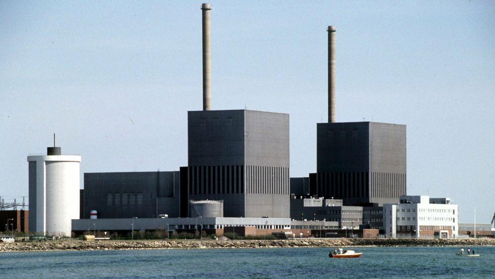 Barsebäck atomkraftverk i Sverige.