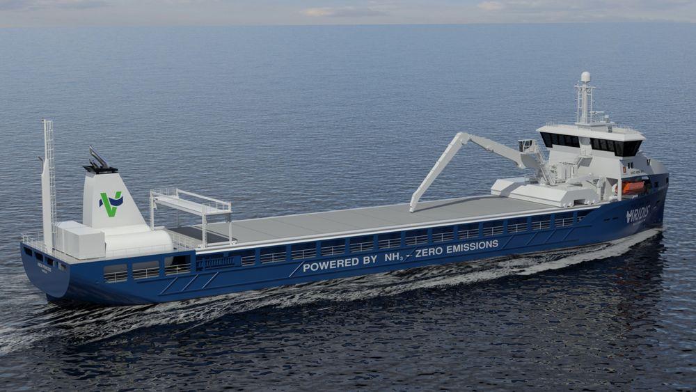 Rederiet Viridis vil bygge en serie nullutslippsskip.