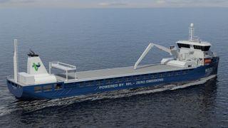 Nytt rederi vil bygge en serie ammoniakkdrevne skip
