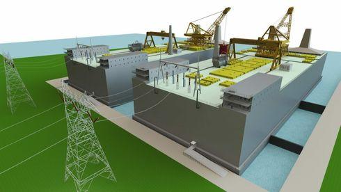 Det amerikanske selskapet Thorcon utvikler lektere med opptil 500 MW genereringskapasitet basert på 4. generasjons teknologi.