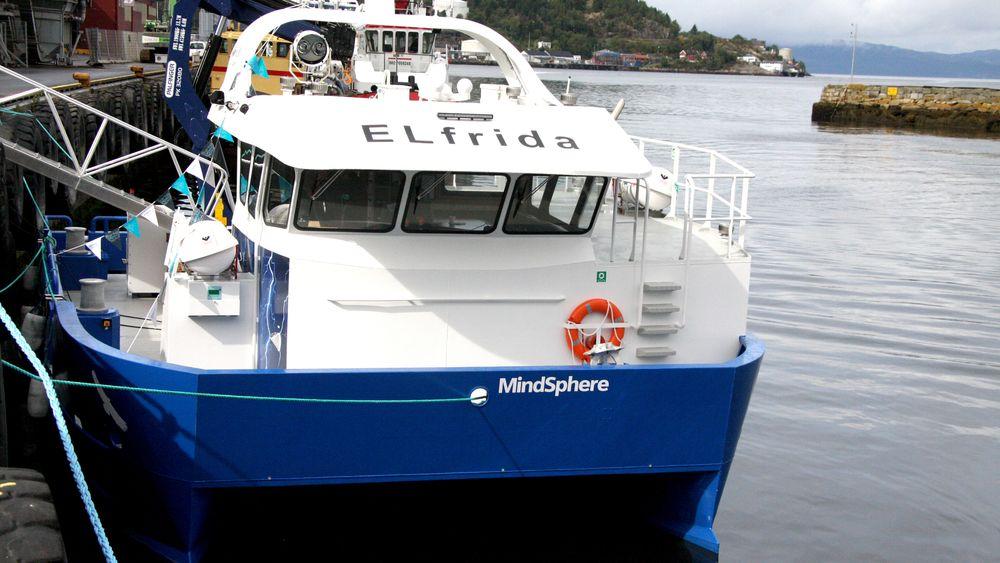 Den første batterihybride arbeidsbåten Elfrida var innovativ da den ble døpt i 2017. Nå er den ikke lenger like nyskapende.
