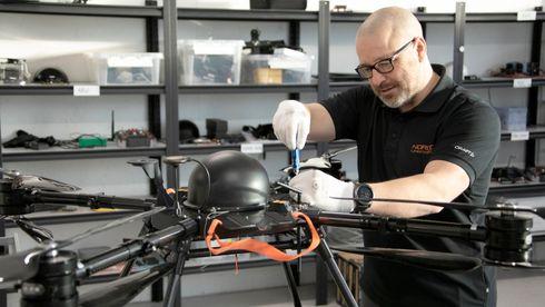 Droner på hydrogen skal fordoble rekkevidden