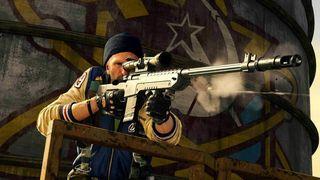 Skjermbilde fra Call of Duty Warzone.