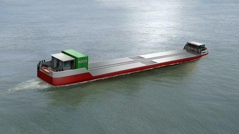 Lasteskip av typen Zulu skal frakte varer på Seien nær Paris. Ett av tre skip skal benytte komprimert hydrogen i brenselcelle til framdrift på tampen av 2021. De 50 meter lange skipene kan ta 300 tonn last.-