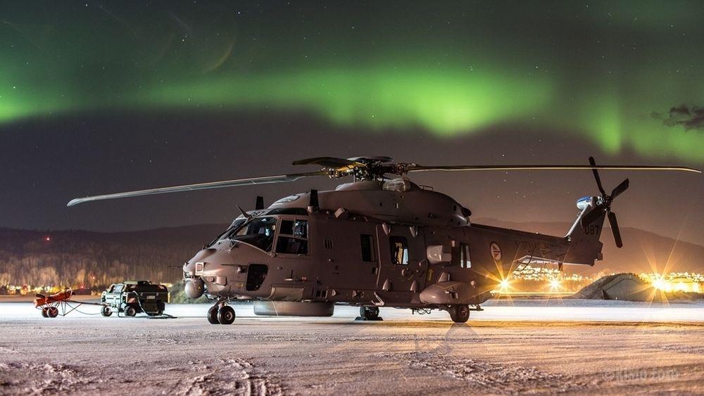 Et av de 11 NH90-helikoptrene som så langt er levert til Norge. Helikoptrene krever for mye vedlikehold til at de er i nærheten av å kunne levere nok flytimer til både Kystvakt og fregatter.