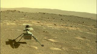 Ingenuity er snart klar for å sin første flyvetur på Mars