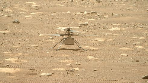 Mars-helikopteret trenger programvareoppdatering før det kan fly