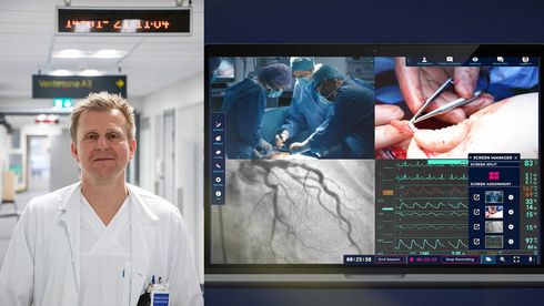 Kirurg dr. Kristian Eeg Storli har tatt i bruk «Teams for kirurger», og tror slike løsninger blir mye vanligere fremover.