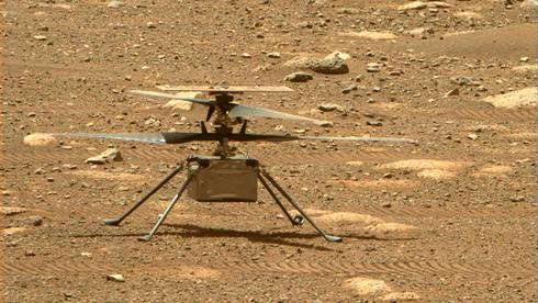 Sjefspilot Håvard Grip styrer den historiske begivenheten: Mars-helikoptereter klart for takeoff