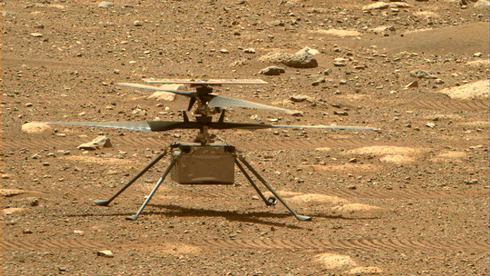 Mars-helikoptereter klart for historisk takeoff mandag morgen