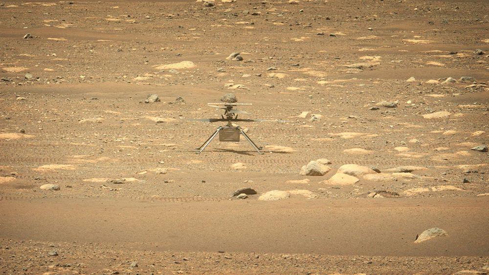 UTSATT: Ingenuity må vente noen dager før sin første flyvning på en annen planet.