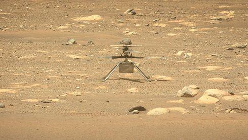 Problemer for Mars-helikopteret - utsetter historisk flyvning