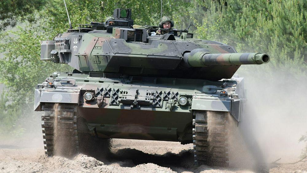 Tysk Leopard 2A7 – den ene av to kandidater til å bli ny stridsvogn for Norge om fire års tid.