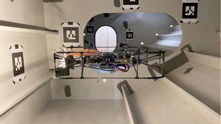 Her finner dronen veien uten hjelp av GPS