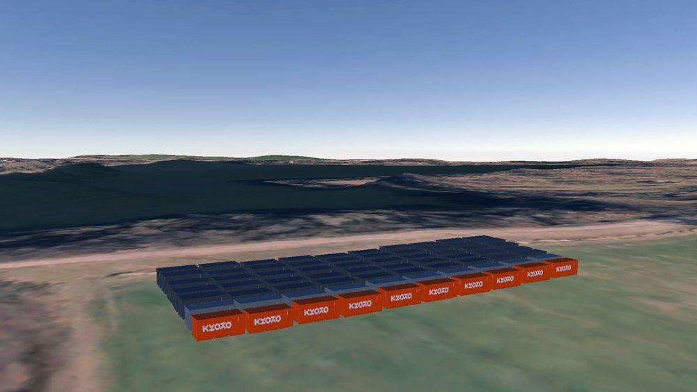 200 MWh: Et slikt system kan bygges for 10 prosent av prisen til et batterisystem og levere energien som varme.