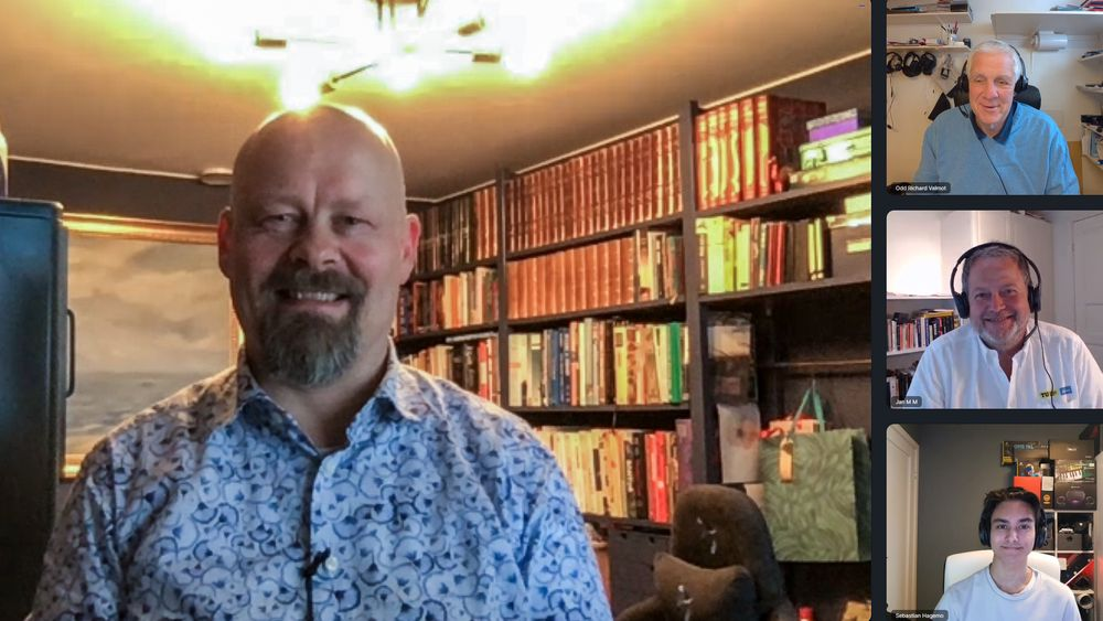 Kan cybersikkerhet: Sikkerhetsekspert Kai Roer driver selskapet KnowBe4 sin forskningsavdeling i Norge.