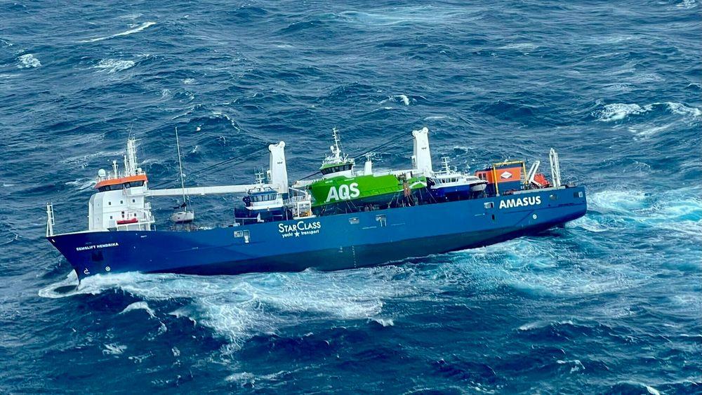 Det nederlandske lasteskip Eemslift Hendrika fikk motorstopp i Norskehavet og måtte berges. Ville det væet sikrere om skipet hadde vært autonomt?