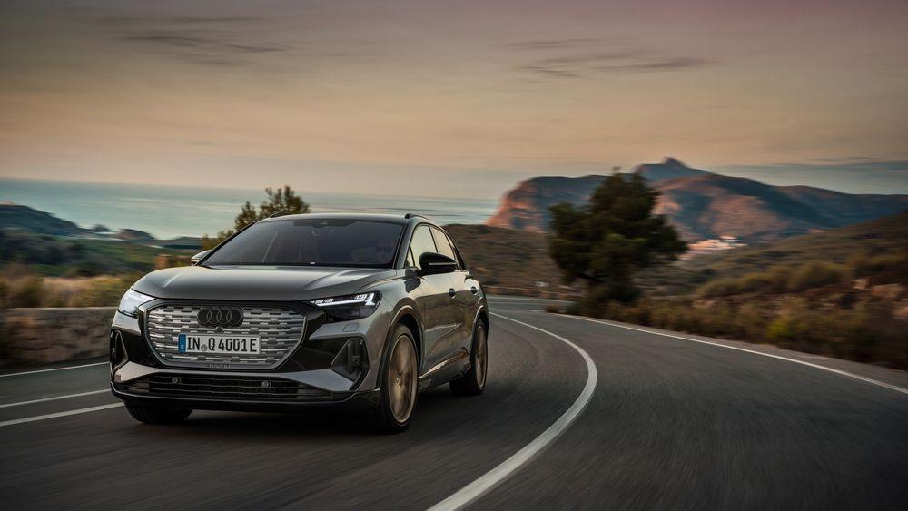 Audi Q4 e-tron er tyskernes første elbil bygget på den dedikerte elbilplattformen MEB.