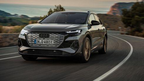 Audi kaster seg inn i kampen om den beste elektriske familie-SUV'en