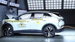 Krasjtestet:Så god er sikkerheten til Skoda Enyaq iV og Volkswagen ID.4