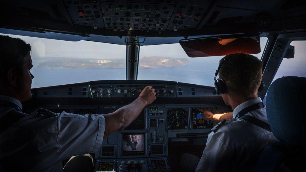 Videoopptak av cockpit kan være supplerende informasjon som er nyttig i undersøkelsen av flyulykker (illustrasjonsfoto).