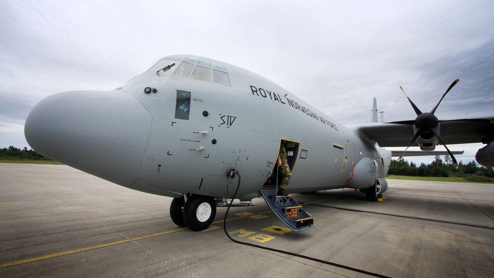 Det var dette C-130J-flyet, «Siv», som havarerte for litt over ni år siden.