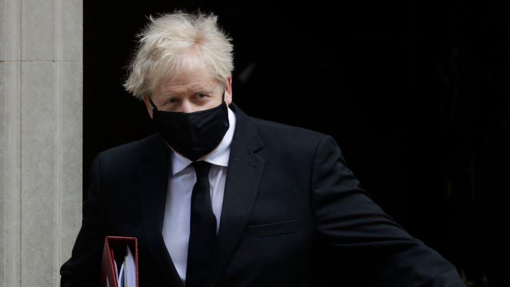 Statsminister Boris Johnson, her utenfor 10 Downing Street i forrige uke.
