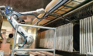 Norges største renseanlegg benytter robotisert vasking av utstyr, sparer flere arbeidsuker årlig