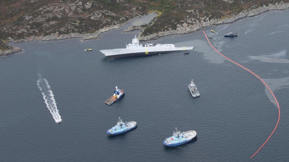 På dagen ett år etter at KNM Helge Ingstad havarerte, saksøkte staten DNV GL som hadde klasset fregatten.