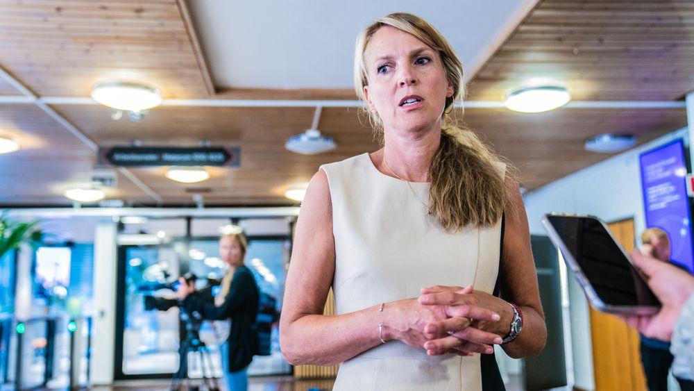 Vaksineekspert: Avdelingsdirektør Line Vold ved Folkehelseinstituttvet hva prosenten betyr.