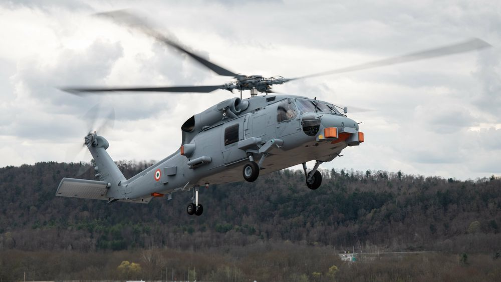 Det første Sikorsky MH-60R for India har nå fløyet for første gang. Kanskje vil vi på sikt se det utrustet med NSM.