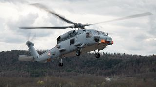 Blandede følelser for nordmenn: Dette helikopteret kan bli det første som utrustes med NSM