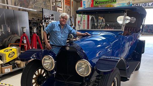 En av de mest oppsiktsvekkende bilene til Jay Leno kommer fra et råttent treskur utenfor Bergen