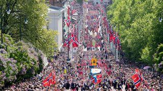Her fra årets 17. mai-feiring i Oslo.