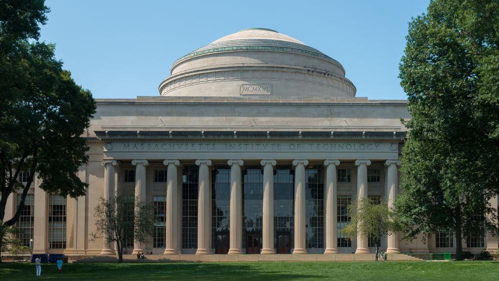 Den store kuppelen på Massachusetts Institute of Technology (MIT).