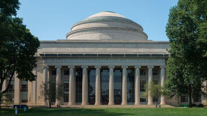 Den store kuppelen på Massachusetts Institute of Technology.